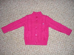 NEW Ralph Lauren Sweater Jacket 12 Months