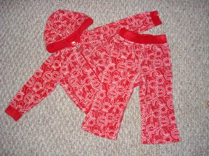 NEW Ecko Red Scribble Set 18 Months ECKORED