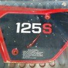 Honda xl125 air filter door panel cover 1982