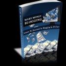 Make Money Blogging E-book