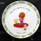 1973 'GIGI' Commemorative Edition Christmas Plate
