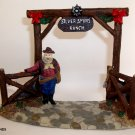 Welcome Silver Spurs Ranch Collector Decor'  ~ 2008 ~ HOLIDAY TIME
