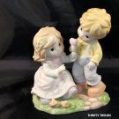 I'll Share My Heart With You ~ Couple Porcelain Figurine