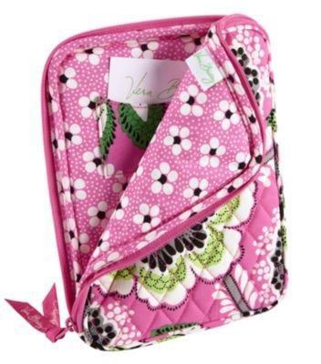 Vera Bradley E-Reader Sleeve Priscilla Pink NWT Retired mini tablet nook kindle *cover tech case