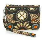 Vera Bradley Super Smart Wristlet smartphone wallet ID coin case Canyon NWT  reader case