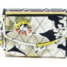 Vera Bradley Super Smart Wristlet smartphone wallet ID coin case Dogwood  NWT reader case