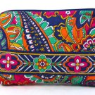Vera Bradley Small Cosmetic Venetian Paisley NWT   travel toiletry case