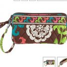 Vera Bradley Lola Wristlet new gusseted style tech case NWT retired