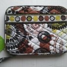 Vera Bradley E-Reader Sleeve Cocoa Moss NWT Retired  mini tablet kindle nook *cover tech ase