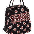 Vera Bradley Let's Do Lunch in Pirouette insulated travel cosmetic bottle bag Retired NWT