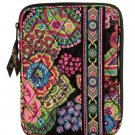 Vera Bradley E Reader Sleeve Symphony in Hue  NWT Retired  mini tablet nook kindle *cover  case