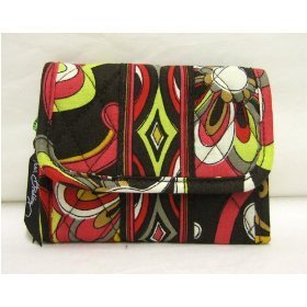 Vera Bradley Pocket Wallet in Puccini NWT Retired coin purse card case fold-over ID card case