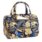 Vera Bradley Lunch Date in Ellie Blue  Retired NWT insulated travel cosmetic case bottle bag