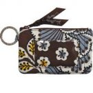 Vera Bradley Zip ID Case Slate Blooms ID card pill case  NWT Retired