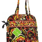 Vera Bradley Tall Zip Tote Puccini NWT Retired laptop carryon commuter tablet case