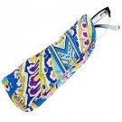 Vera Bradley Readers Case Capri Blue  NWT Retired  slim eyeglass holder