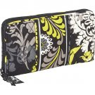Vera Bradley Accordian Wallet Baroque travel organizer clutch NWT Retired
