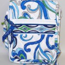 Vera Bradley Mini Hipster Mediterranean White crossbody shoulder bag travel organizer  NWT Retired