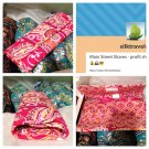 Vera Bradley Sleek Wallet Rasberry Fizz convertible travel organizer crossbody clutch NWT Retired
