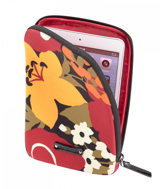 Vera Bradley Neoprene Tablet Sleeve  Bittersweet NWT iPad case packing cube