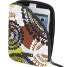 Vera Bradley Neoprene Tablet Sleeve Cocoa Moss NWT Retired  packing cube iPad case