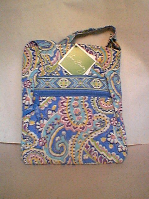 Capri Blue Hipster Vera Bradley  crossbody tablet bag NWT Retired