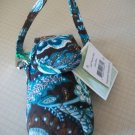 Vera Bradley Cell Phone Case in Java Blue  tech key PDA case  NWT Retired