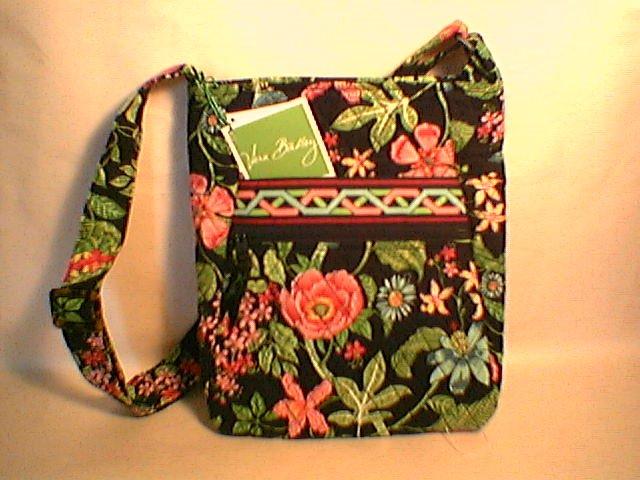 Vera Bradley Hipster Botanica  crossbody shoulder bag Retired NWT tablet tech