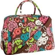 Vera Bradley Weekender Lola Retired NWT travel tote overnighter luggage trolley sleeve
