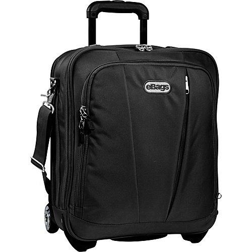 eBags tls Vertical Mobile Office Black wheeled laptop tech case  NWT