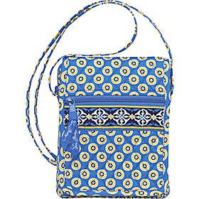 Vera Bradley Mini Hipster crossbody bag Riviera Blue  Retired - swing bag, wallet on string