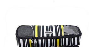 eBags Slim Packing Cube Ltd Ed Yellow Stripe single  great travel aid