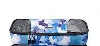 eBags Slim Packing Cube Ltd Ed Blue Watercolor Single cube travel aid