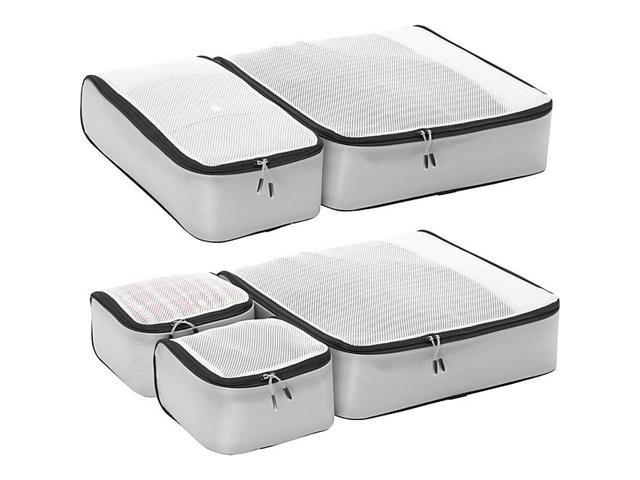 eBags Ultralight Packing Cubes - Grey gray titanium Super Packer 5pc Set travel organizers
