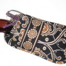Vera Bradley Double Eye Caffe Latte  holds two pairs eyeglasses NWT retired