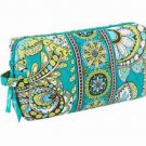 Vera Bradley Medium Cosmetic Peacock  Bird NWT   travel toiletry case
