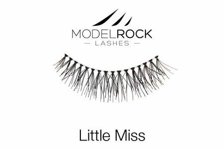 Human Hair False Eyelashes - Little Miss -  for small eyes