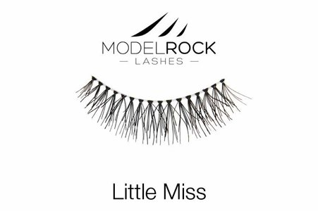 Model Rock Lashes Bridal 3/4 Lashes for Small Eyes - Little Miss