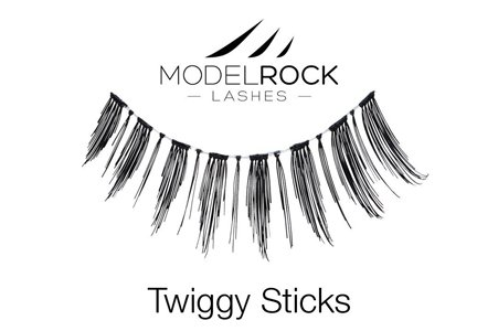 Pointed Lashes - Twiggy Sticks