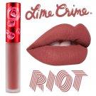Lime Crime Riot Velvetines Matte Red Lipstain Lipstick