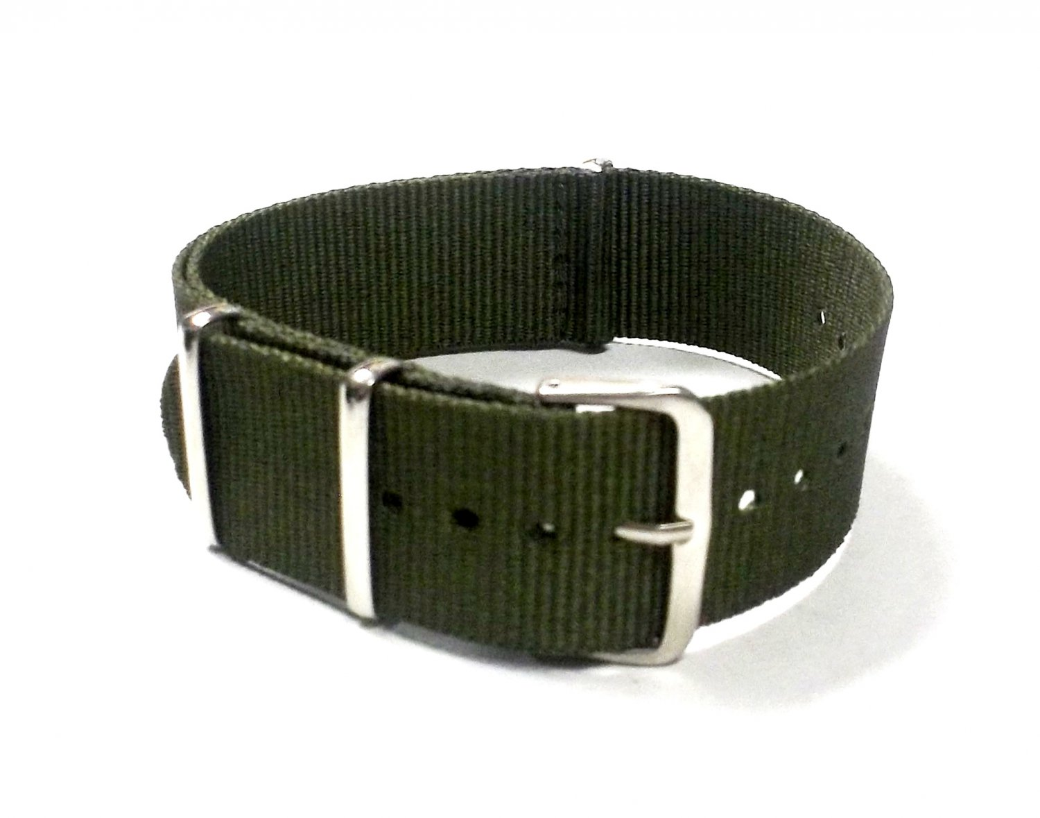 Military G10 Nylon Olive Green Watchstraps Watch Straps Band 20mm FREE SHIPPING