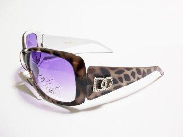 Womens Women Ladies Translucent Frame InterWhite Sunglasses 335W