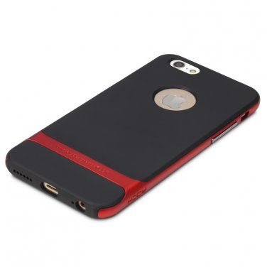 Rocks iPhone 6 TPU / PU Protective back case Red Color