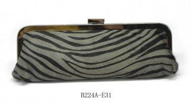 Verga Zebra Print Evening Handbag bag - E31