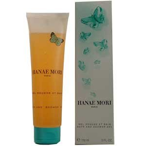 Hanae Mori by Hanae Mori for Women 5.0 oz Shower Gel (Green Butterfly)