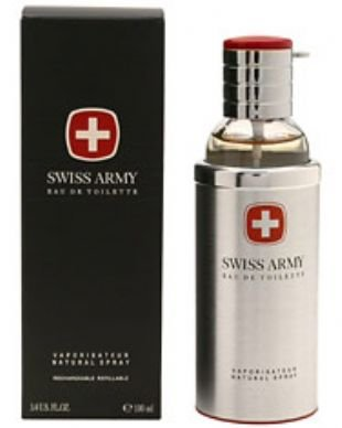 Swiss Army for Men by Swiss Army 3.4 oz Eau de Toilette Spray REFILLABLE
