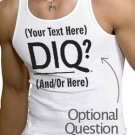 [Blank] DIQ  Personalized Tank Top