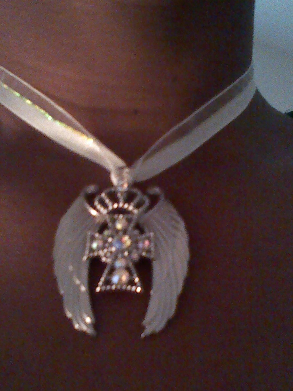 Winged Cross Pendant