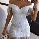 YOLANDA TASSEL DRESS sz S M L XL
