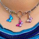 Fly My Way Butterfly Choker Necklace